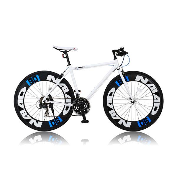 【送料無料】CANOVER CAC-023 NAIAD ホワイト [ロードバイク (700x28C・21段変速・フレーム490mm)]【同梱配送不可】【代引き不可】【沖縄・北海道・離島配送不可】