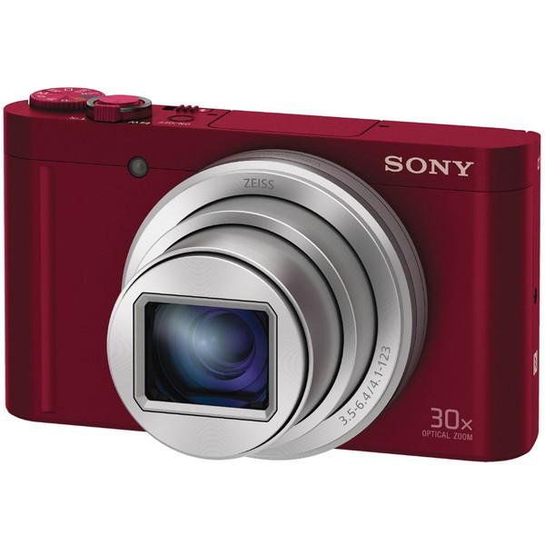 【送料無料】SONY DSC-WX500 (R) レッド Cyber-shot(サイバーショット) [コンパクトデジタルカメラ (1820万画素)]