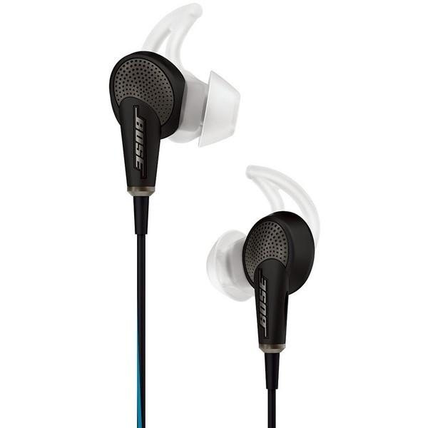 【送料無料】BOSE QuietComfort 20 Acoustic Noise Cancelling headphones Apple 製品対応モデル ブラック [ノイズキャンセリング カナル型イヤホン]