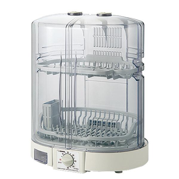 深めの皿も立てて置ける 80cmロング排水ホースつき 分解式はし立て 高温乾燥 象印 EY-KB50-HA グレー 2020モデル 食器乾燥器 5人分 EYKB50 分解して洗える まな板乾燥OK 高温80℃乾燥 たて型 省スペース 食洗器 らくらく 売れ筋 清潔 Ag+抗菌加工水受け はし立て