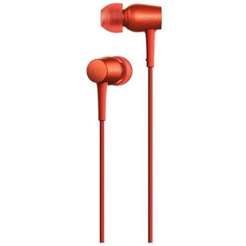 【送料無料】SONY MDR-EX750AP (R) シナバーレッド h.ear in [カナル型イヤホン (ハイレゾ音源対応)]