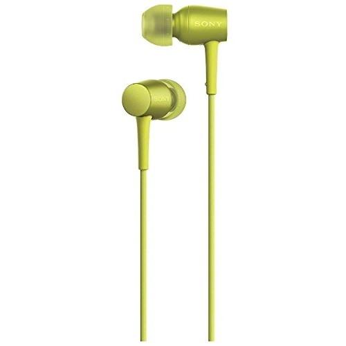 【送料無料】SONY MDR-EX750AP (Y) ライムイエロー h.ear in [カナル型イヤホン (ハイレゾ音源対応)]