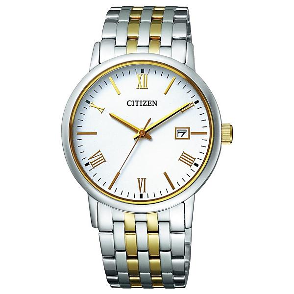 【1年保証】腕時計 シチズン (CITIZEN) コレクション BM6774-51C 【メンズ】【日本製】【エコ・ドライブ電波腕時計】 3気圧 シンプル おしゃれ プレゼント ギフト