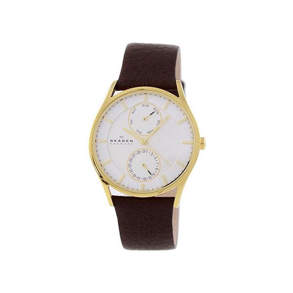 【送料無料】SKAGEN SKW6066 ホワイト×ゴールド Holst Multi-Function (ホルスト マルチファンクション) [クオーツ腕時計 (メンズウオッチ)] 【並行輸入品】