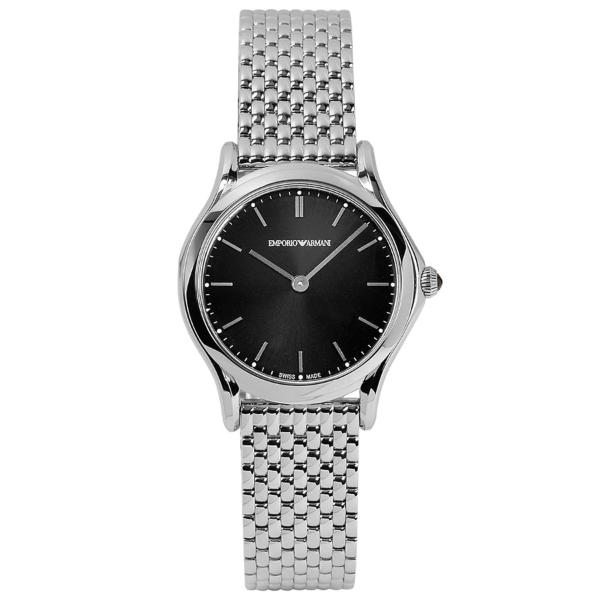 【送料無料】EMPORIO ARMANI ARS7000 ブラック×シルバー [クォーツ腕時計(レディース)] ARMANI【並行輸入品】【並行輸入品】, 快適いぬ生活:759ebd12 --- sunward.msk.ru
