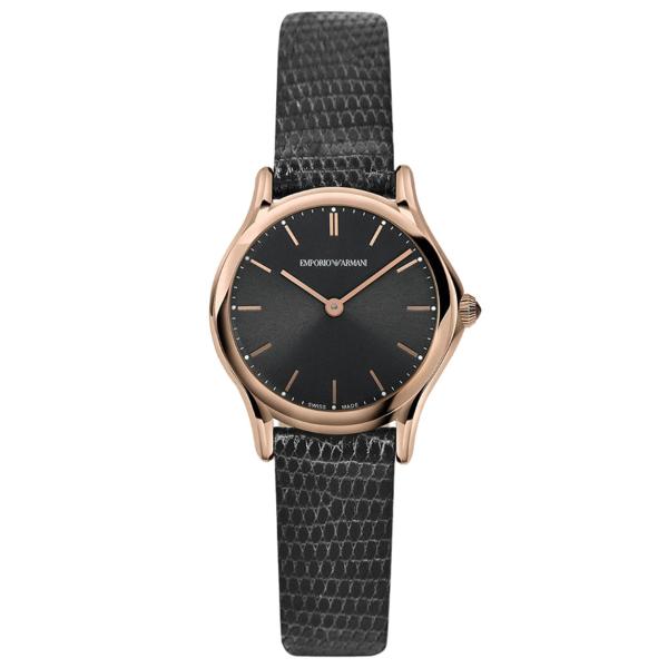 【送料無料】EMPORIO ARMANI ARS7003 ダークグレー [クォーツ腕時計(レディース)] 【並行輸入品】
