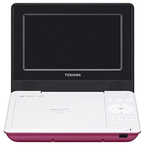 【送料無料】東芝 SD-P710SP ピンク REGZA [7V型LEDワイド液晶ポータブルDVDプレーヤー]