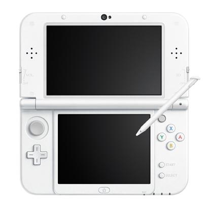 【送料無料】任天堂 Newニンテンドー3DS LL パールホワイト [3DSLL本体]
