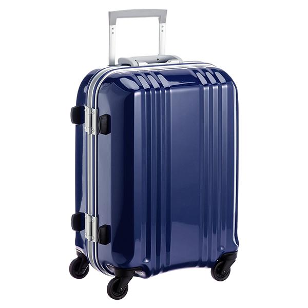 【送料無料】アジア・ラゲージ MM-5188 ネイビー A.L.I(エー・エル・アイ) デカかる2 [スーツケース(34L/1~2泊) 機内持ち込み可]