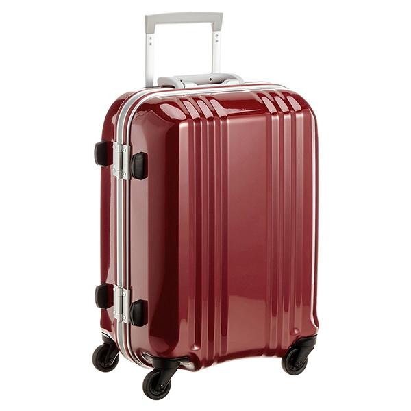 【送料無料】アジア・ラゲージ MM-5188 ワイン A.L.I(エー・エル・アイ) デカかる2 [スーツケース(34L/1~2泊) 機内持ち込み可]