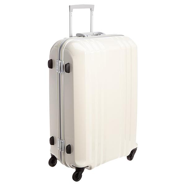 【送料無料】アジア・ラゲージ MM-5388 ホワイトスキン A.L.I(エー・エル・アイ) デカかる2 [スーツケース(64L/4~7泊)]