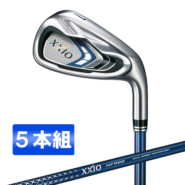 【送料無料】DUNLOP(ダンロップ) XXIO9(ゼクシオナイン) アイアンセット 5本組 (#6-Pw) MP900 カーボンシャフト S【日本正規品】