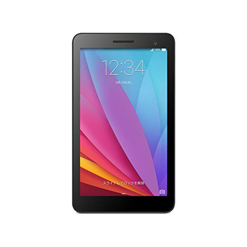 【送料無料】Huawei T1-701W シルバー(Black Panel) Mediapad 7 [タブレットPC 7型 Android (Wi-Fiモデル/microSDHCカード32GBまで対応)]