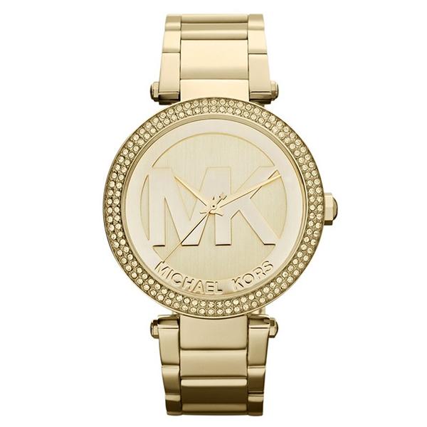【送料無料】MICHAEL KORS MK5784 ゴールド Parker(パーカー) [クォーツ腕時計(レディース)] 【並行輸入品】