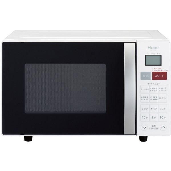 【送料無料】ハイアール JM-V16C-W ホワイト [オーブンレンジ (16L)]