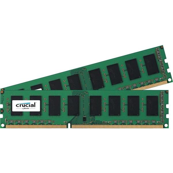 Crucial CT2K102464BD160B [16GB Kit (8GBx2) DDR3L 1600 MT/s (PC3L-12800) CL11 Unbuffered UDIMM 240pin 1.35V/1.5V ] 【同梱配送不可】【代引き・後払い決済不可】【沖縄・北海道・離島配送不可】