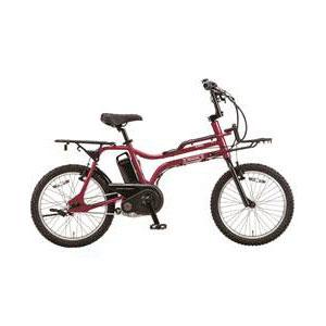 【送料無料】PANASONIC BE-ELZ03-R カンパリレッド イーゼット [電動アシスト自転車(20インチ・内装3段)]【同梱配送不可】【代引き不可】【本州以外の配送不可】