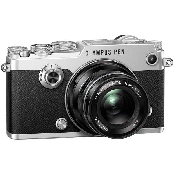 【送料無料】OLYMPUS(オリンパス) PEN-F・12mm F2.0レンズキッドシルバー [デジタル一眼カメラ (2030万画素)]