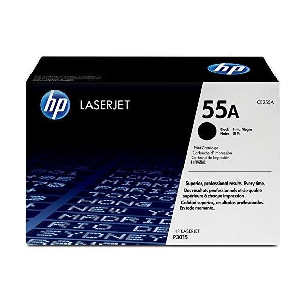 【送料無料】HP CE255A 黒 [トナーカートリッジ 標準 (P3015)]【同梱配送不可】【代引き不可】【沖縄・離島配送不可】