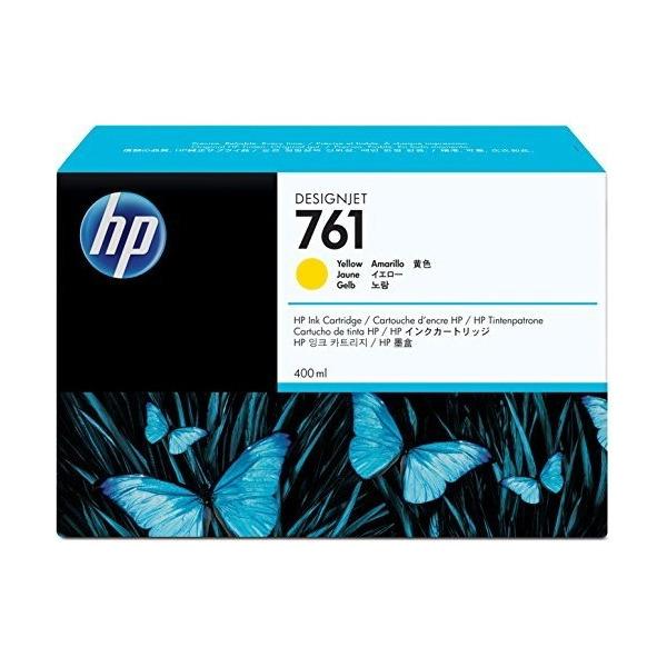 【送料無料】HP CM992A イエロー HP761 [インク 400ml]【同梱配送不可】【代引き不可】【沖縄・離島配送不可】