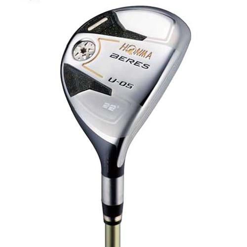 【送料無料】本間ゴルフ(HONMA) BERES(べレス) U05 ユーティリティ AQ48 2S カーボンシャフト 25 フレックス:S 【日本正規品】