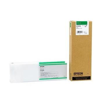 【送料無料】EPSON ICGR58 グリーン [インクカートリッジ (700ml)]【同梱配送不可】【代引き不可】【沖縄・北海道・離島配送不可】