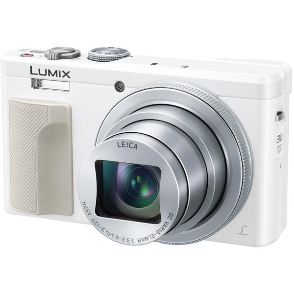 【送料無料】PANASONIC DMC-TZ85-W ホワイト LUMIX [コンパクトデジタルカメラ (1810万画素)]