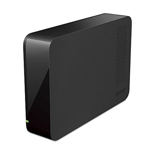 【送料無料】BUFFALO HD-LC2.0U3-BKE ブラック [外付けHDD(2TB USB3.0用・PC/家電対応)]