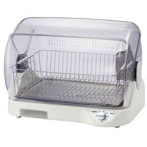 吹き出し口温度約100度の高温熱風で清潔に乾燥させます 省スペース コンパクト設計の食器乾燥機です 売買 爆買い新作 TIGER DHG-S400-W サラピッカ ホワイト 食器乾燥機 6人分