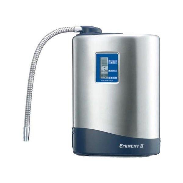 三菱ケミカル クリンスイ 据置型 浄水器 クリンスイエミネントII EM802 高性能 流量たっぷり 据置 浄水機 浄水 浄水器 カートリッジ交換目安1年 高性能ツインカートリッジシステム ステンレスボディ