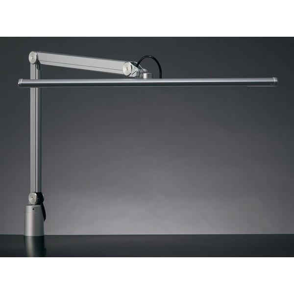【送料無料】山田照明 Z-S5000-SL シルバー(銀) Z-LIGHT(ゼットライト/Zライト) [クランプ式LEDスタンドライト] 連続調光 無段階調光(30~100%) 昼白色 5000K(Ra80) 丸形上締めクランプ(取付可能厚(10~45mm) JIS-AAクラス 精密作業 工場作業用