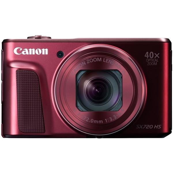 CANON PowerShot SX720 HS [レッド] PowerShot [コンパクトデジタルカメラ(約2,030万画素)]