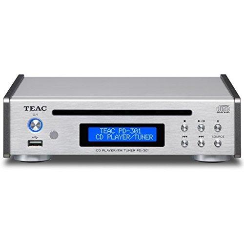TEAC PD-301-S シルバー [CDプレーヤー(USB搭載・ワイドFM対応)]