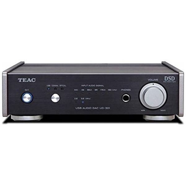 【送料無料】TEAC UD-301-SP/B ブラック [デュアルモノーラル USB DAC ハイレゾ音源対応]