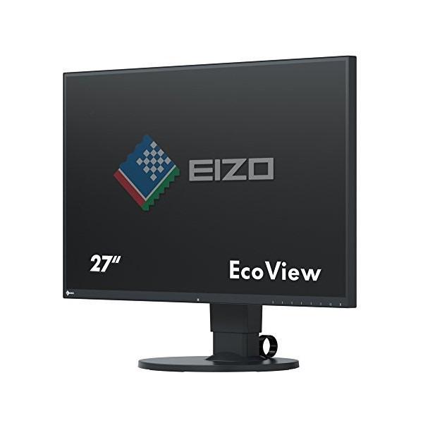 【送料無料】EIZO EV2750-BK ブラック FlexScan [27型 カラー液晶モニター]【同梱配送不可】【代引き・後払い決済不可】【沖縄・北海道・離島配送不可】