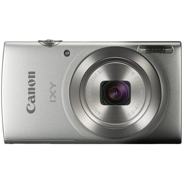【送料無料】CANON IXY180(SL) シルバー IXY [コンパクトデジタルカメラ(約2000万画素)]【同梱配送不可】【代引き不可】【沖縄・離島配送不可】