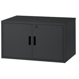 ハヤミ工産 PHP-B8100L ブラック [機器収納ボックス(大型タイプ)] 【同梱配送不可】【代引き・後払い決済不可】【沖縄・離島配送不可】