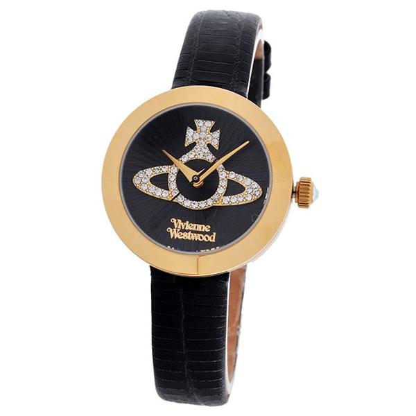 【送料無料】Vivienne Westwood VV150GDBK Queensgate(クイーンズゲート) [クォーツ腕時計(レディース)] 【並行輸入品】