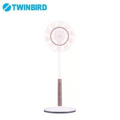 【送料無料】TWINBIRD EF-DJ69W ホワイト [扇風機 (コアンダエア・ハイポジションタイプ)]