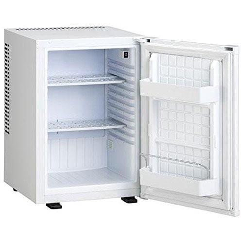 【送料無料】三ツ星貿易 ML-640W ホワイト [冷蔵庫(40L・右開き)]