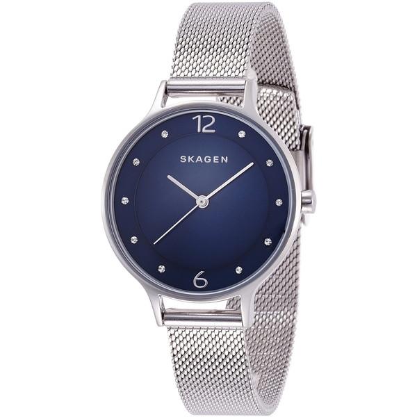 【送料無料】SKAGEN SKW2307 ブルー×シルバー ANITA(アニタ) [クォーツ腕時計 (レディースウオッチ)] 【並行輸入品】