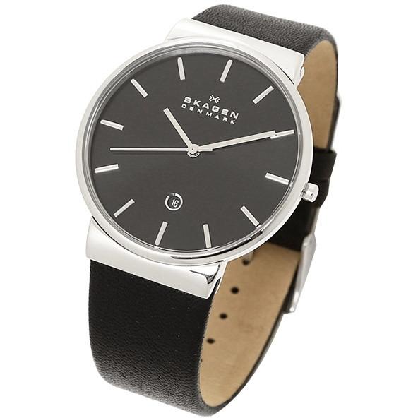 【送料無料】SKAGEN SKW6104 ブラック [クォーツ腕時計 (メンズウオッチ)] 【並行輸入品】