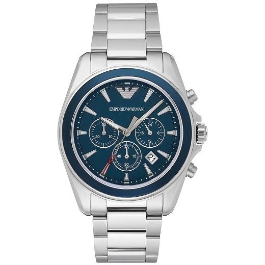 【送料無料】EMPORIO ARMANI AR6091 ネイビーブルー×ステンレススチール Sportivo Sigma (スポーティボ シグマ) [クォーツ腕時計 (メンズウオッチ)] 【並行輸入品】