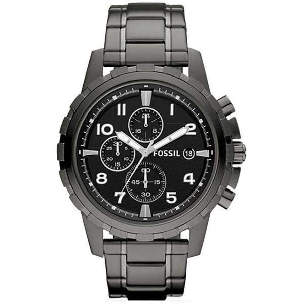 【送料無料】FOSSIL FS4721 ブラック×ガンメタル DEAN(ディーン) [クォーツ腕時計 (ユニセックス)] 【並行輸入品】