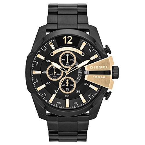 【送料無料】DIESEL DZ4338 メガチーフ クロノグラフ [腕時計] 【並行輸入品】