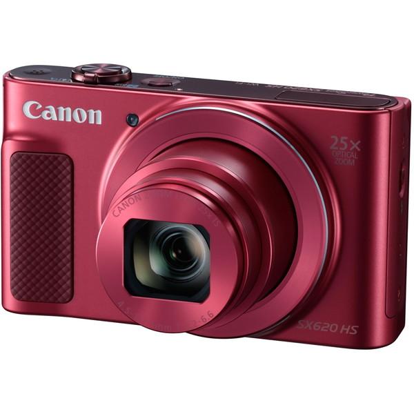 【送料無料】CANON PSSX620HS(RE) レッド PowerShot SX620 HS [コンパクトデジタルカメラ (2020万画素)]
