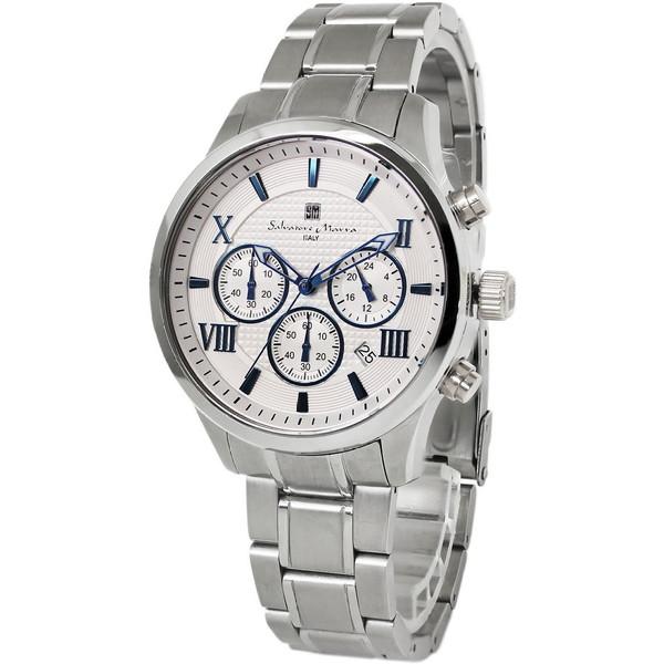 【送料無料 SM15102-SSWHBL】Salvatore [腕時計] Marra SM15102-SSWHBL Marra [腕時計], メガネ、レンズ交換のアイベリー:fb548253 --- sunward.msk.ru
