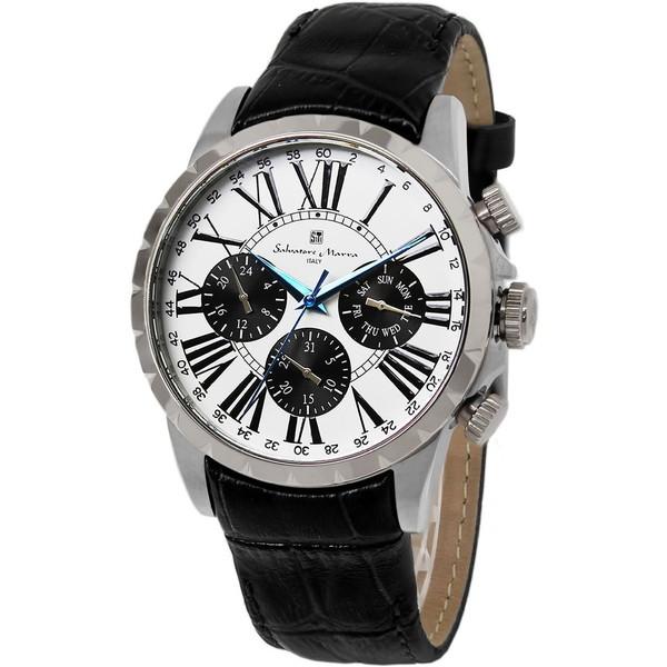 Salvatore Marra SM15103-SSWH [腕時計]