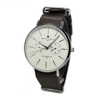 Salvatore Marra SM15117-SSWHSV [クォーツ式腕時計 (メンズ)]
