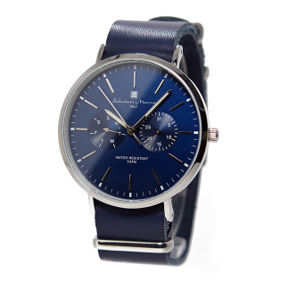 Salvatore Marra SM15117-SSNVSV [クォーツ式腕時計 (メンズ)]